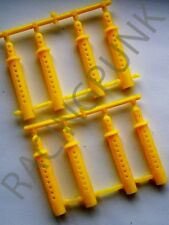 1/10 RC Buggy 190mm 200mm Bodyshell Body Shell Clips 6mm Extension Post YELLOW