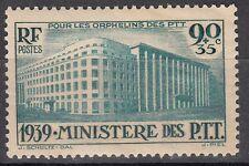 FRANCE TIMBRE  N° 424 * PARIS MINISTERE DES PTT