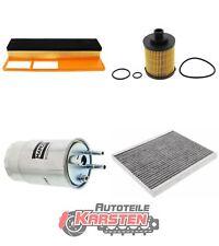 FilterSet (L): 1x Ölfilter, 1x Luftfilter, 1x Kraftstofffilter, 1x Innenraumfil