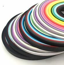 """New listing Nice Quilling Paper Tools Bulk Supplies 2080 15"""" Strips 3 5 7 10 mm 120gsm"""