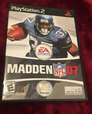 MADDEN 2007 PLAYSTATION 2 PS2 COMPLETE IN BOX W/ MANUAL