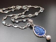 Blue Pearl Sterling Silver Fine Necklaces & Pendants