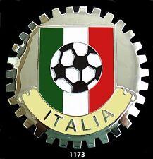 CAR GRILLE EMBLEM BADGES - ITALIA( W/SOCCER BALL)
