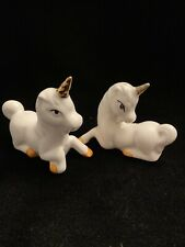 New ListingVintage Young's Inc Unicorn Salt And Pepper Shakers