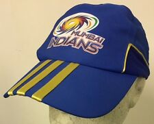 Official Adidas Old Style Mumbai Indians IPL Cricket Caps, Size Adult @ £8.95p !