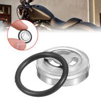 18mm Motorcycle Bike Brake Master Cylinder Reservoir One Sight Glass Lens Gasket