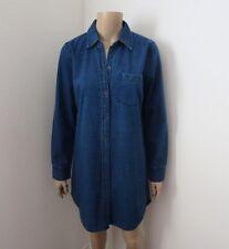 NWT Abercrombie & Fitch Womens Denim Shirt Dress Size Small
