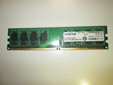 Memoria RAM Crucial CT12864AA667.M8FH 1GB PC2-5300U DDR2-667Mhz