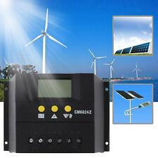 60A 12-24V/48V Solar Regulator Solar Charge Controller LCD Genetator PY6024Z  FE