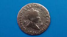 MONEDA DE ESPAÑA ISABEL II 2 MARAVEDIES 1843