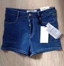 Zara Patternless Hot Pants Shorts for Women