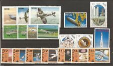 Nevis- 19 MNH stamps all relating to Aviation/Space..