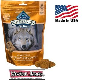Natural Wilderness Blue Buffalo Dog TURKEY Healthy Treats Grain Free MADE IN USA