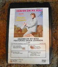 Dwain Johnson  Heaven on My Mind  8 Track Cartridge Tape  (RP)