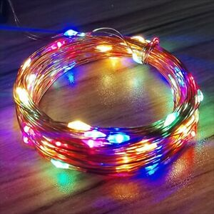 LED Decorative Waterproof Copper Wire Creative Lights for New Year Holiday Party