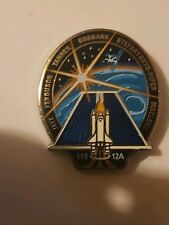 NASA Space Shuttle Mission STS-115 ISS 12A Atlantis Lapel Pin