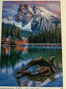 Earthpix Canadian Rockies JIG SAW PUZZLE 500 Pieces By Buffalo Recycled Paper