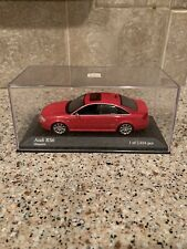 1/43 MINICHAMPS Audi RS6 Misanorot Limited Edition