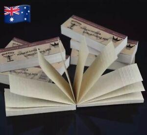 2X Hornet Slim Natural Hemp Rolling Tip Booklet 50pcs Per Book RAW Smoking Paper