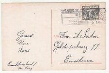 Netherlands: Postcard, Den Haag, Plein; 'sGravenhage to Eindhoven, 1 Sep 1942