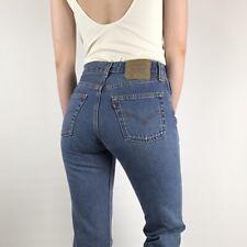 Women`s Vintage Levi`s 501 High Waist Mom/Boyfriend Jeans UK Size 14 / W34 L34