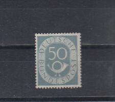 Bund, Nr. 134, nachgummiert