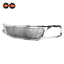 97-03 Ford F150 Expedition Chrome Vertical Front Grille Plastic Shell Upgrade