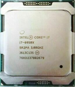 Intel Core i7-6950X CPU Processor Extreme Edition25M Cache, up to 3.50 GHz