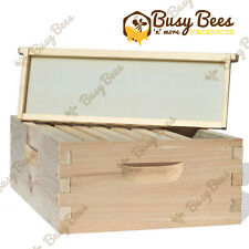 Langstroth Bee Hive 8 Frame Medium Box w/ Frames and Foundations