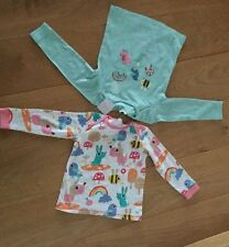 Next little baby Girl Tops NWT toadstool rainbow bee rabbit S1.5-2y so cute