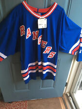 Vintage Starter New York Rangers NHL Hockey Jersey Men's Size XL New With Tags