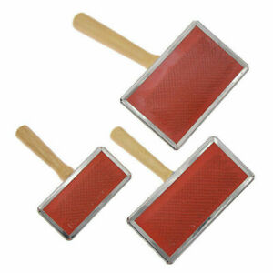 Sheep Wool Blending Carding Combs Hand Carders Felting Preparation Three Size
