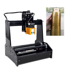 Usb Cnc Mini Cylindrical Engraver Desktop Small Laser Carving Machine Device 15w