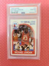 1989 HOOPS MICHAEL JORDAN ALL-STAR #21 PSA 10 GEM MINT HOF BULLS