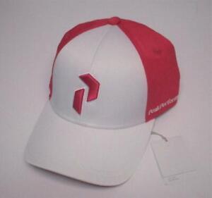 New Womens Peak Performance Path Stretch Fit golf cap Small Medium