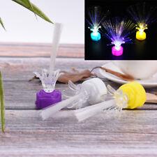 Romantic Color Changing LED Fiber Optic Night Light Lamp Battery Powered BB