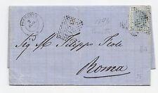 J676-BOLOGNA-PORRETTA LETTERA X ROMA 1870