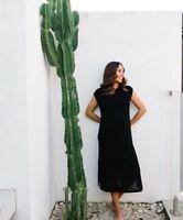 COUNTRY ROAD : NEW! SZ S,M,L [CR LOVE] mesh knit dress black 10,12,14