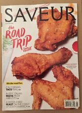 SAVEUR Road Trip Issue Recipe Chicken Taco Pasta Italian May 2015 FREE SHIPPING!