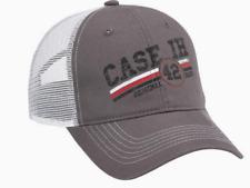 Case IH Gray/White Chino Mesh Men's Cap