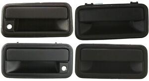 4pc NEW Outside Door Handles Set for 1995-2002 C1500 K1500 Tahoe Yukon Suburban