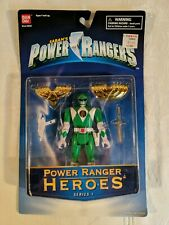 Power Ranger Heroes Series 1 Green power ranger - power rangers Bandai saban
