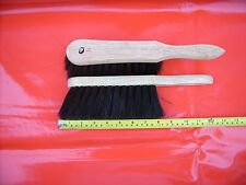2x HAND BANNISTER BRUSHES MIXED FIBRES WOODBURNER OPEN FIRE BUILDERS FREE P&P