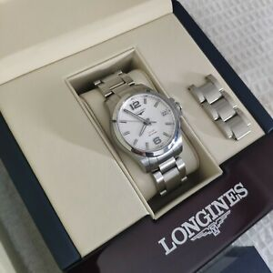 Longines Conquest VHP, High accuracy quartz watch. 36mm (RRP £830)