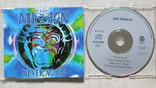 MISSION - Never Again  Maxi-CD  Vertigo ‎– 866 797-2   Made in Germany