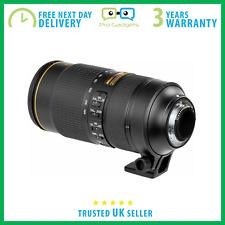 NUEVO Nikon Af-s Nikkor 80-400 mm f/4.5-5.6G Ed Vr Lente - 3 Año De Garantía