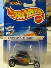 Hot Wheels '32 Ford in Slide out clear plastic w/Petty on Card