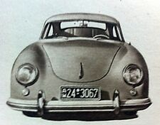 PORSCHE Type 356 -1953 - Road Test removed from AUTOCAR