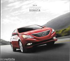 2014 14  Hyundai  Sonata  original  brochure MINT