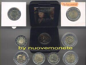 SLOVENIA 2 EURO COMM. DAL 2007 FDC  SCEGLI QUELLO CHE TI SERVE